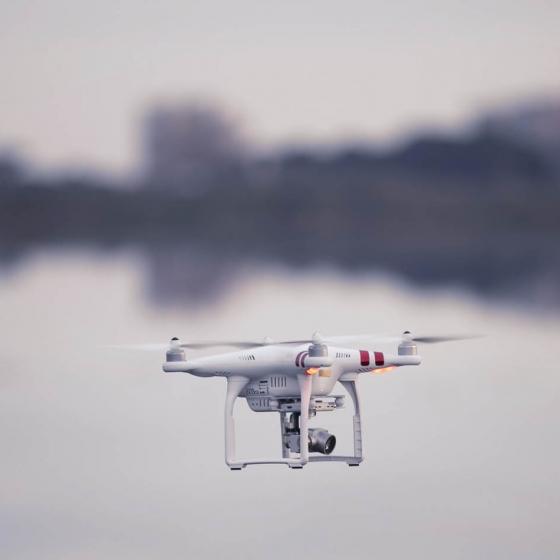 Imágenes aéreas con Dron